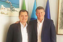 Fabio Porta com Pierpaolo Bombardieri, novo Secretário Geral da UIL