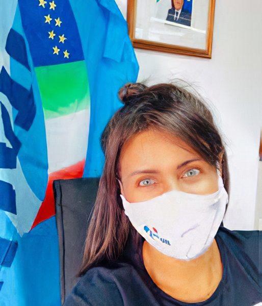 Fernanda Costa, do escritório da Ital-Uil de Salvador (Bahia)