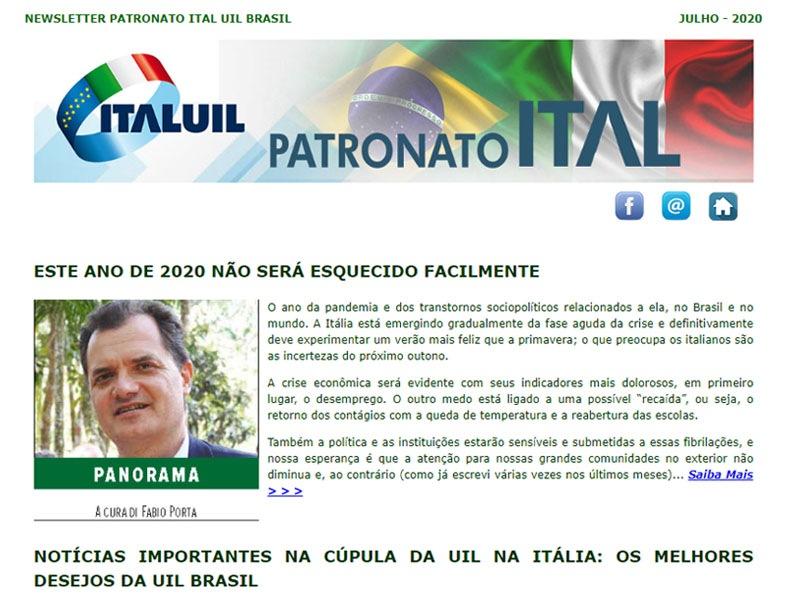 Newsletter Patronato Ital Julho 2020