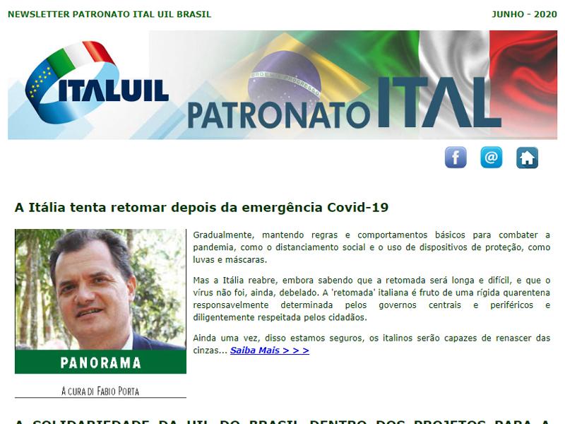 Newsletter Patronato Ital Junho 2020