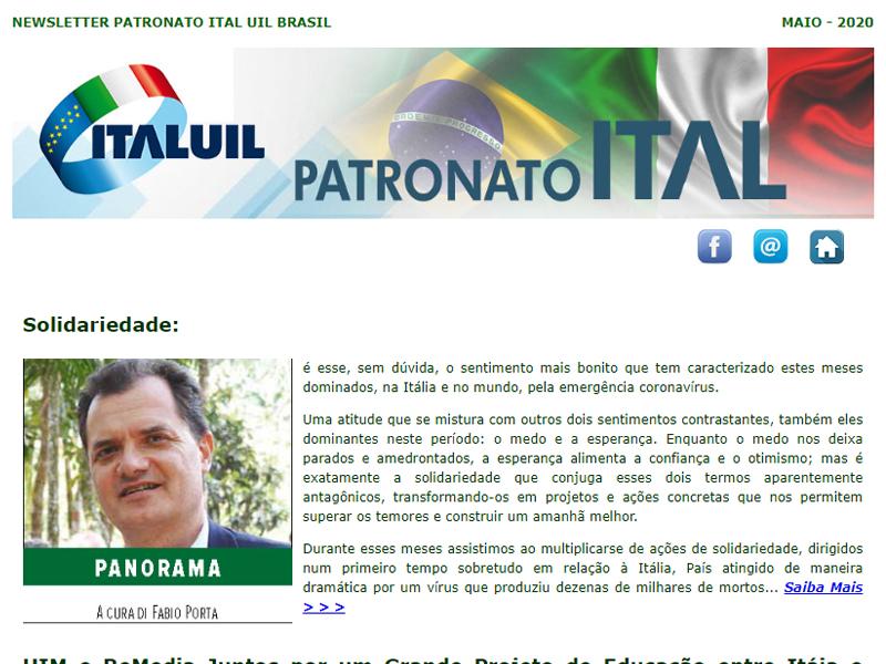 Newsletter Patronato Ital Maio 2020