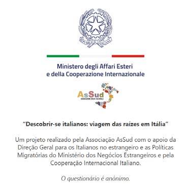"""Um questionário para os ítalo brasileiros sobre o """"turismo das raízes"""""""