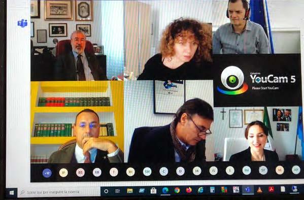 Seminário virtual debate sobre a situação dos aposentados.